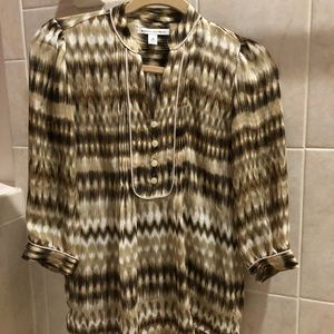 Perfect condition Banana Republic 3/4 sleeves top